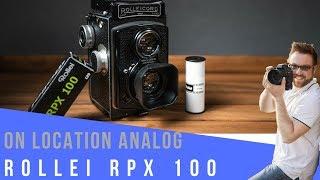 ROLLEI RPX 100 - AUF EINE ROLLE I Analogfotografie On Location Film Review