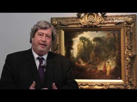 """Obras comentadas: """"Fiesta en un parque"""", Jean-Antoine Watteau, (1712 - 1713)"""