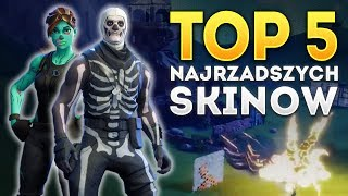 TOP 5 RAREST SKINS! Fortnite Fortnite