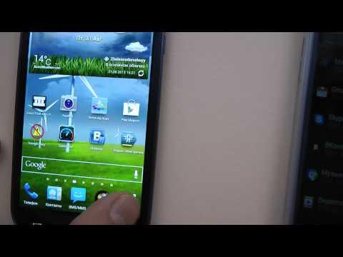 Второй обзор Samsung Galaxy S III SHV-E210S