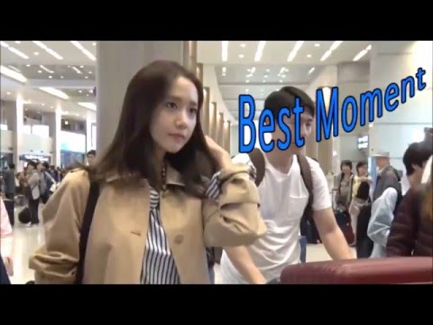 [1080p] 160420 [SNSD] Yoona - Incheon Airport (from China) [Dispatch & Yes娯樂]
