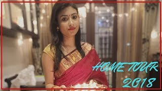DIWALI HOME DECOR IDEAS || ORGANIZED INDIAN HOUSE TOUR || INDIAN VLOGGER MALINI