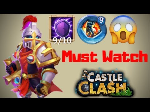 Silent Cover | Paladin | Crazy Defense | Recommended Video | Castle Clash