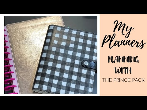 My Planners: Planning with The Prince Pack