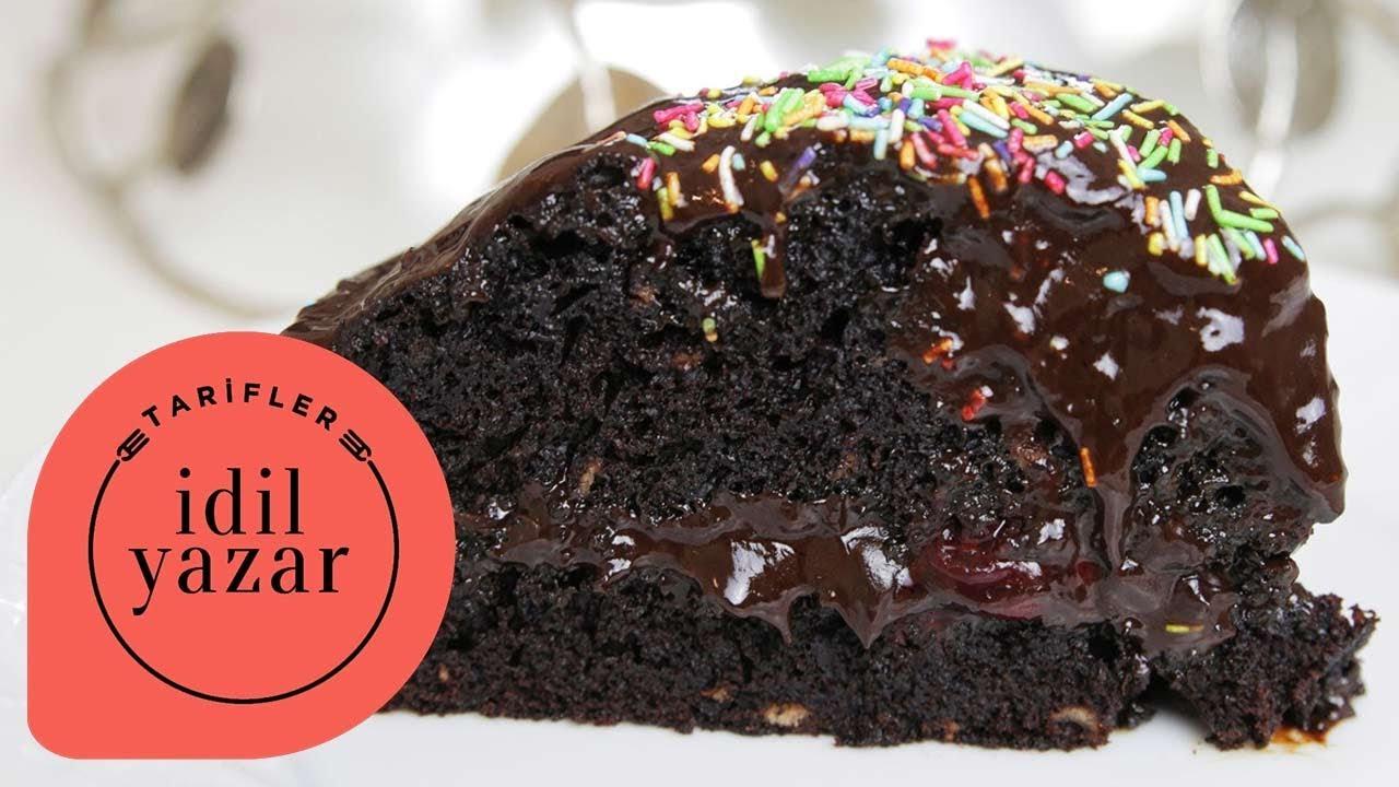 Vişneli Çikolatalı Yaş Pasta Tarifi Videosu