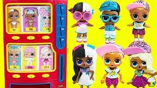 LOL SURPRISE Vending Machine Surprise Toys Big Brother Big Sister