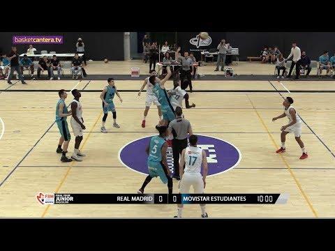 U18M - REAL MADRID vs. MOVISTAR ESTUDIANTES .- Final Four Junior FBMadrid (BasketCantera.TV)