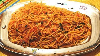 59 - Spaghetti alle padelle...li narravan le novelle (primo piatto di mare velocissimo e e saporito)
