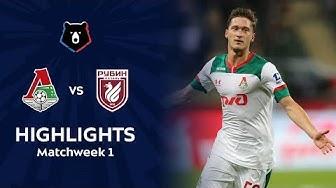 Highlights Lokomotiv vs Rubin (1-1)