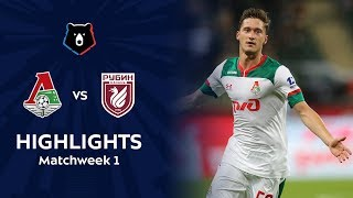 Highlights Lokomotiv vs Rubin (1-1)