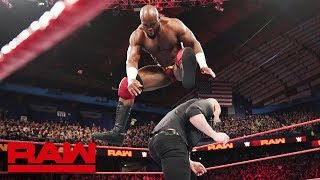 Apollo Crews vs. Baron Corbin: Raw, March 18, 2019 thumbnail