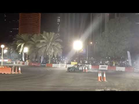 Bmw e30 blow up his engine!?! Redbull car park drift qatar