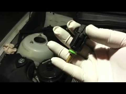 2003 Bmw 330i Replace Coolant Temp Sensor Oring Youtube