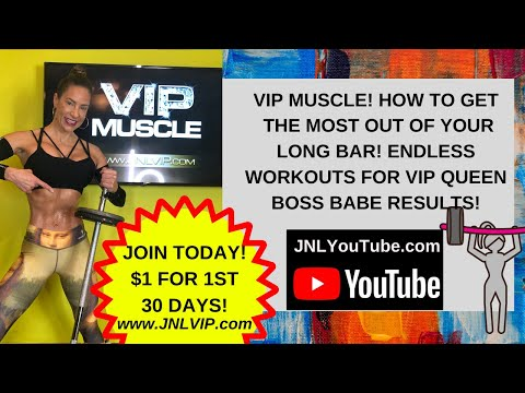 Endless Uses for Your Long Bar! W/ Master Trainer Jennifer Nicole Lee! For more join JNLVIP.com