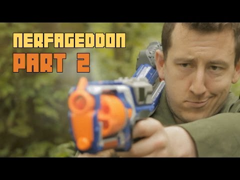Most Epic Nerf Battle Ever - Nerfageddon pt2 : The Nights at the Round Table Finale