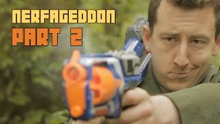 Epic Nerf War - Nerfageddon pt2 : A Few Darts More | The Nights at the Round Table Finale