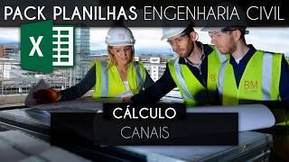 Planilhas de Excel Para Engenharia Civil, Orçamentos, Cálculos  [PLANILHAS 100% EDITÁVEIS]