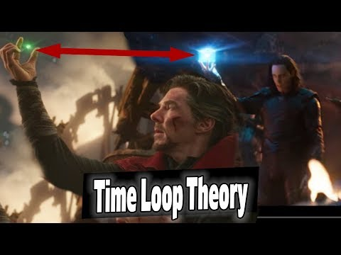 *NEW* AVENGERS ENDGAME THEORY: Dr. Strange TIME LOOP Steals Infinity Stones??