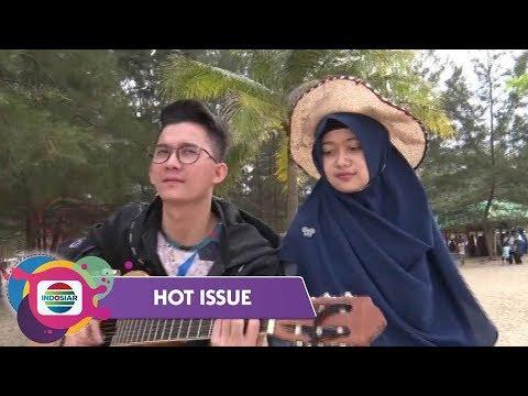 Romantisme Yendri Gemilang Dan Fuji Di Tepi Pantai Bangka Belitung - Hot Issue Pagi