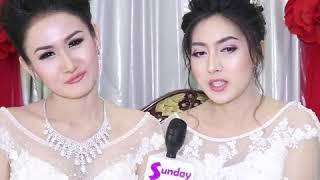 "Miss Now How 2017 Winner ""ယြန္းဝတ္လႊာေအာင္""နဲ႕Miss Universe Yangon  ခိုင္ၾကည္ျပာ"