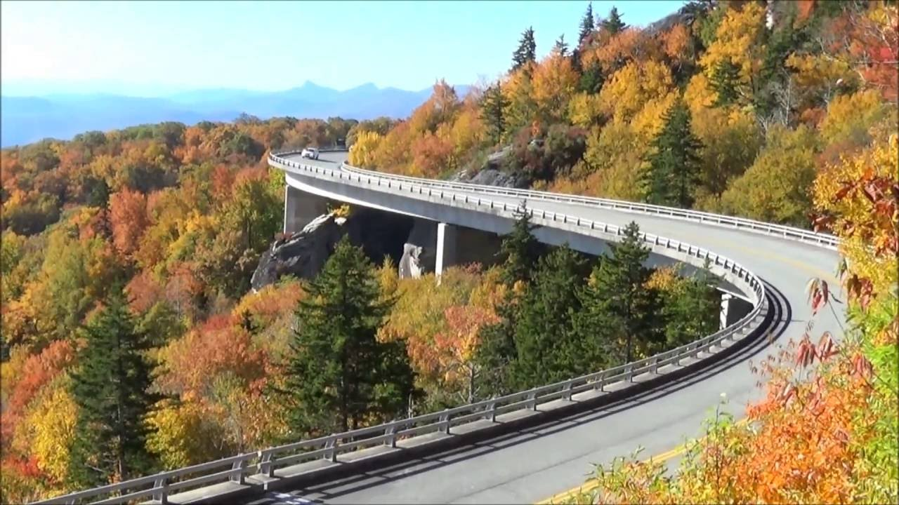 Fall Color On Blue Ridge Parkway Asheville Nc
