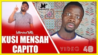 KUSI MENSAH CAPITO MEETS HIS METER on MAGRAHEB TV