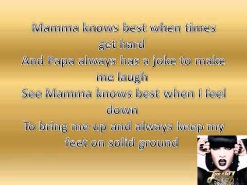 Mamma Knows Best Karaoke Jessie J