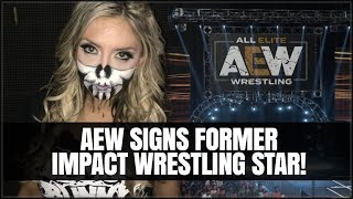 AEW Signs Impact Wrestling Star - Possible Working Relationship with Impact?