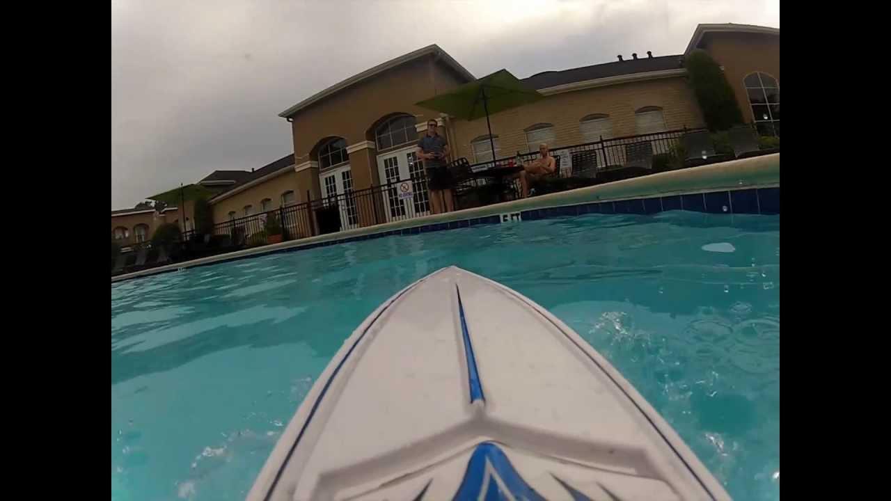 Sinking My RC Boat Like The Titanic YouTube