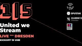 United we Stream aus der SHOWBOXX in Dresden mit GUNJAH, PURPLE DISCO MACHINE, ESKEI83 und COLINE!