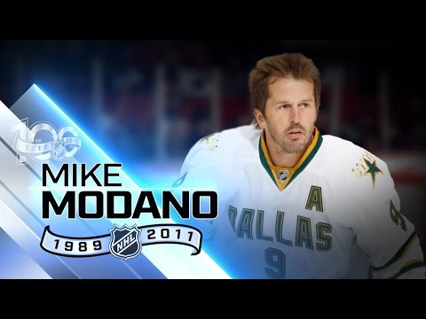 Mike Modano highest-scoring American of all time - YouTube