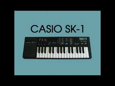 Casio SK1 - Full Demo (Toy Symphony)