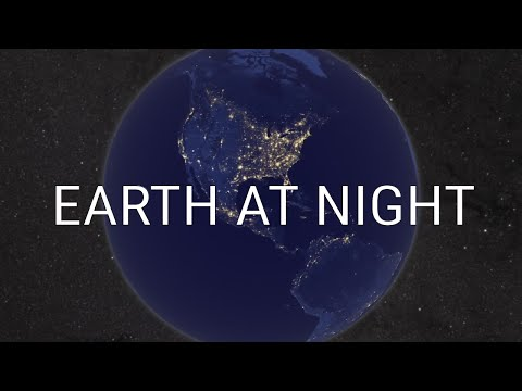 NASA | Earth at Night - The Black Marble - Stunning video of Earth during the night