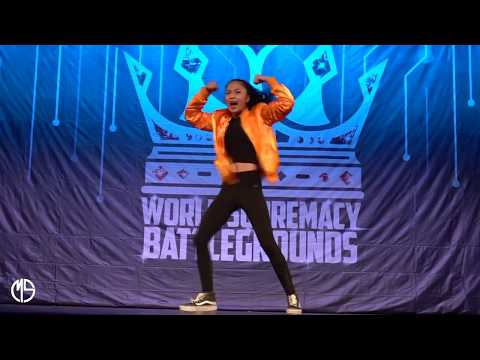 AC Bonifacio showing her Lit Dance Moves @ World Supremacy Battlegrounds (2017) in Australia