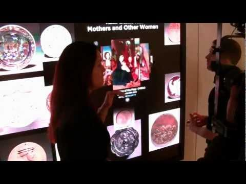 Largest multi-touch screen in US, Collection Wall at Cleveland Museum of Art