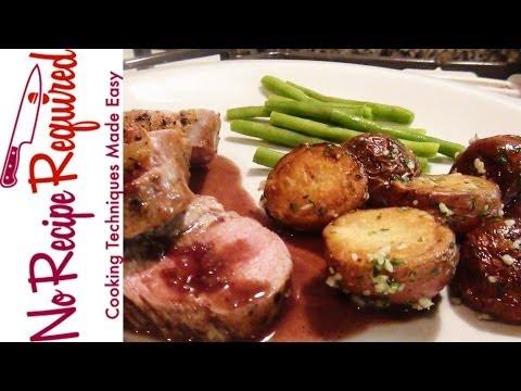 Get How to Cook a Pork Tenderloin - NoRecipeRequired.com Pics