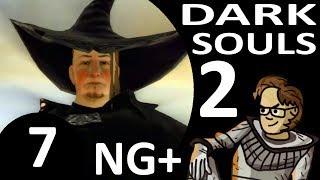 Let's Play Dark Souls 2 New Game Plus Part 7 - The Duke's Dear Freja, Old Paledrake Soul (Hex)
