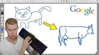 """Googlen Uusi Piirrustus """"Peli""""!   AutoDraw #1"""