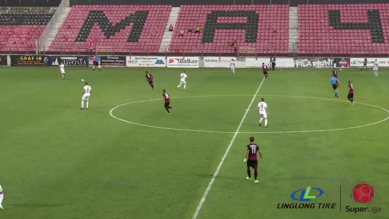 Linglong Tire Super liga 2020/21 - 8.Kolo: MAČVA – TSC 1:4 (0:3)