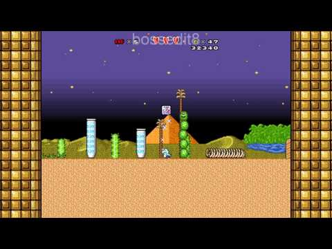 Super Mario Bros. X (SMBX) Custom Level - Berry's Day In Subcon