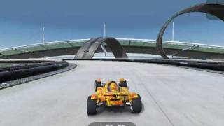Trackmania Nations ESWC gameplay