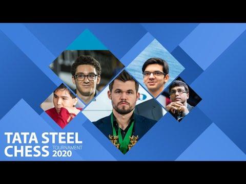 🔴 CARUANA vs. ANAND en DIRECTO | Tata Steel Masters 2020 (8)
