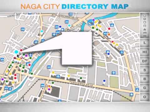 Project: Directory Map, Naga City