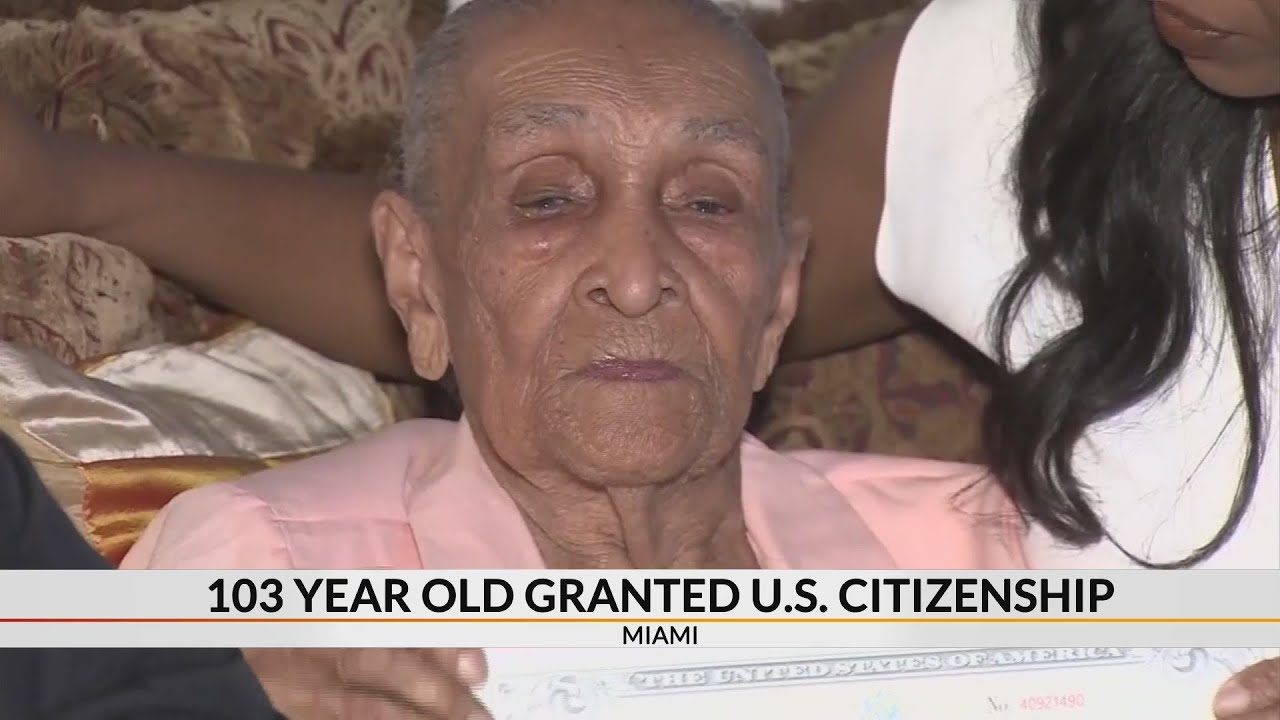 103 year old granted U.S. citizenship