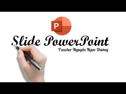 Hiệu ứng chữ viết tay Handwriting cực hay trong Slide PowerPoint   Nguyễn Ngọc Dương