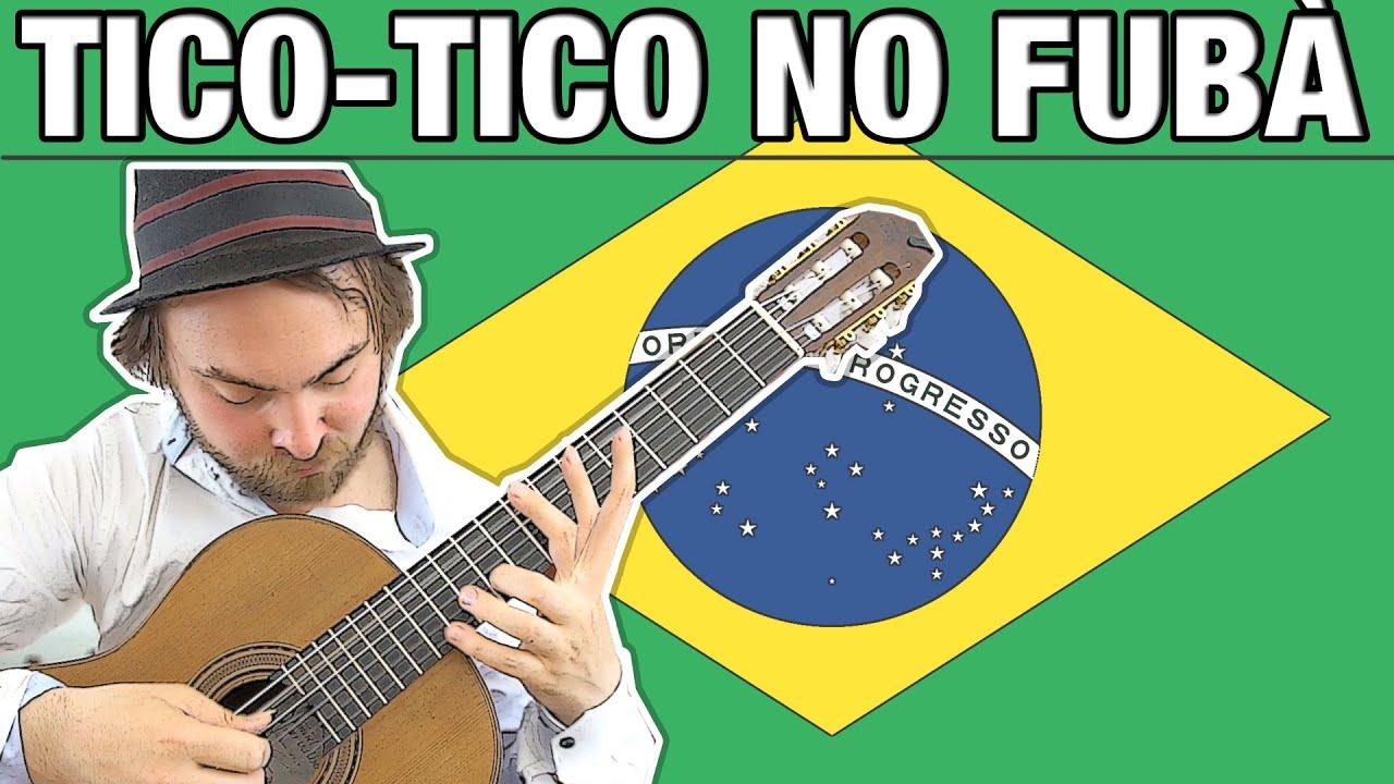 Tico Tico no Fubá - Solo Guitar