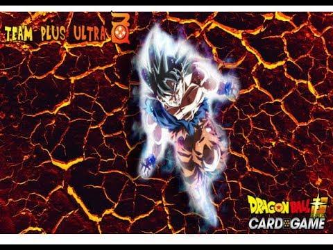 Dragonball Super Card Game SS3 Ultra Instinct B/R Deck Profile