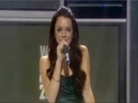 Lindsay lohan World Music Awards 2006