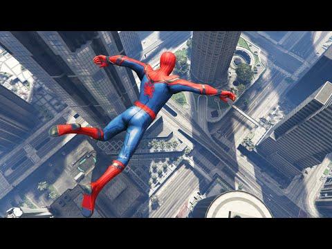 GTA 5 Funny Spiderman Ragdolls Ep.32
