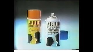 Arrid Extra Dry Commercial (1970)